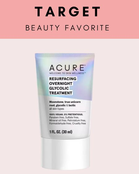 Acure is a great skincare brand that is affordable. I love this glycolic treatment because it is effective but not too intense.    http://liketk.it/3iKk6 #liketkit @liketoknow.it #LTKunder50 #LTKbeauty