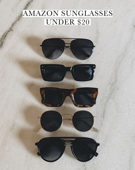 Amazon sunglasses under $20 #style