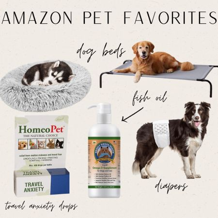 """Hello, friends!! I put together a few of my favorites things for the dogs from Amazon!  The fish oil is what keeps them so healthy and fur so shiny! And the Travel Anxiety drops have been a LIFE SAVER!!!   www.bombshellbeads.com use code """"KIM"""" for 20% off !!    #LTKhome #LTKunder100 #LTKsalealert"""
