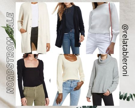 Hi Guys 👋🏽,  These are the pieces I was able to snag today from the Nordstrom Anniversary sale. It's a lot of neutrals so I can mix and match pieces. I also bought my first Madewell piece so I'm excited about that.  I'm pretty sure I will be wearing these before the fall since my workplace can get pretty chilly.   http://liketk.it/3jW1C #liketkit @liketoknow.it   #LTKunder50 #LTKunder100 #LTKsalealert @liketoknow.it.family   You can instantly shop my looks by following me on the LIKEtoKNOW.it shopping app