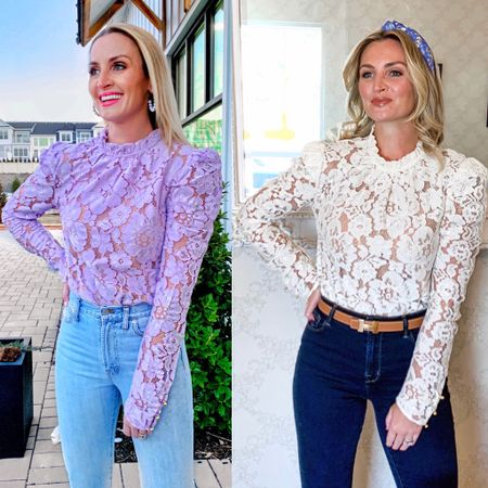 The perfect date night lace top at $89  http://liketk.it/2WX7X #liketkit @liketoknow.it #LTKstyletip #LTKunder100