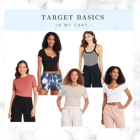 Target favs to throw on with a pair of jean shorts!!  #LTKstyletip #LTKunder100 #LTKunder50