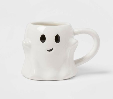 Cute Halloween Mug Ghost Coffee Mug Target finds  Halloween finds Coffee favorites    #LTKsalealert #LTKhome #LTKSeasonal