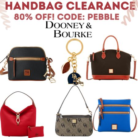 Dooney & Bourke Handbags on sale Use code PEBBLE  #LTKitbag #LTKsalealert #LTKunder100