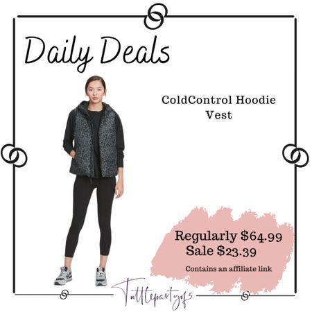 ColdControl Hoodie Vest    #LTKSeasonal #LTKsalealert #LTKHoliday