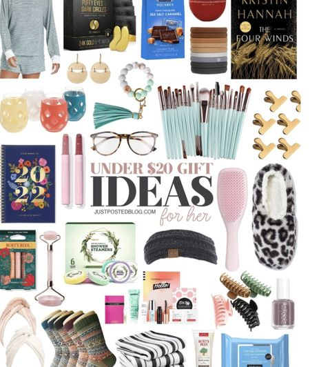 Gift Ideas all under $20! Some of these would make perfect stocking stuffers or teacher gifts.   Gift Guides  Teachers  Women's gifts  Holiday  #LTKSeasonal #LTKbeauty #LTKHoliday