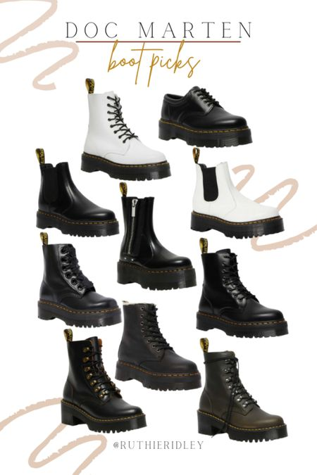 Favorite Doc Marten boots for this fall!!   #LTKstyletip #LTKshoecrush #LTKSeasonal