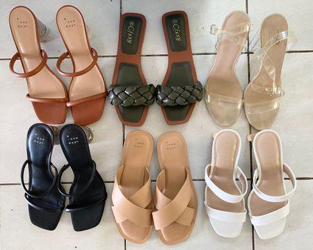 Summer sandal favorites! 🌺🌴🧳 http://liketk.it/3g7rM @liketoknow.it #liketkit #LTKshoecrush #LTKunder50 #LTKunder100 #LTKseasonal