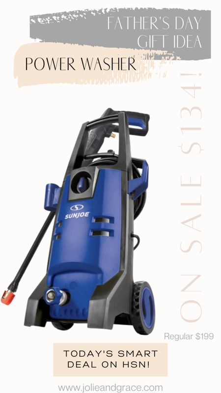 Father's Day Gift idea - power pressure washer from HSN. On sale for $134! http://liketk.it/3gloY @liketoknow.it #liketkit