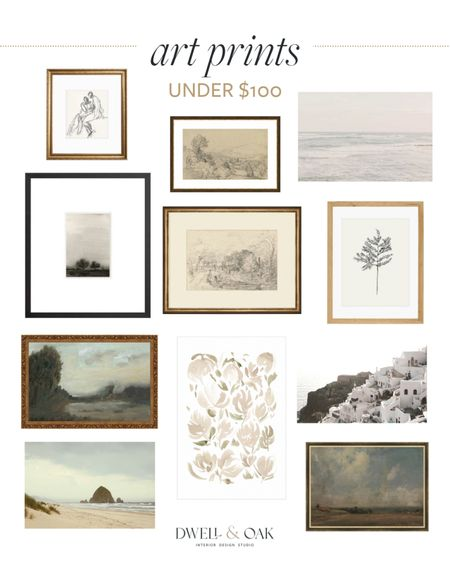 Art prints for your home, all under $100! Modern and vintage inspired prints that would make an excellent gallery wall   #LTKunder100 #LTKstyletip #LTKhome