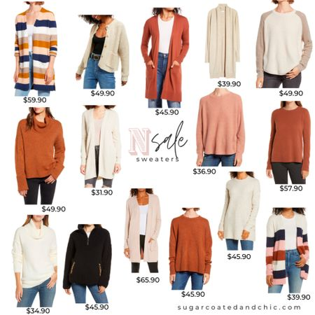 Nsale sweaters! The best cardigans and pullovers from my favorite brands! So many repeats from Last year... and new items! #liketkit #nordstrom #nsale #nsale2020 #sweaters #cardigans #LTKunder100 #LTKunder50 #LTKsalealert http://liketk.it/2THsd @liketoknow.it
