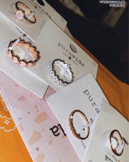 My everyday pura vida rings!! 💍 http://liketk.it/3aPkG #liketkit @liketoknow.it #LTKunder50 #LTKstyletip