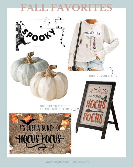 We just made chicken noodle soup + grilled cheese and now we are watching HOCUS POCUS! I'm feeling all the fall vines so I've rounded up a few fall home decor and fashion items I know you guys are going to love!    http://liketk.it/2XV9P #liketkit @liketoknow.it