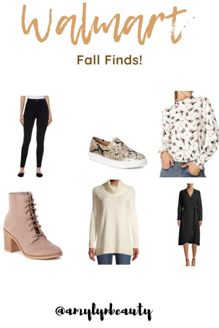 Some awesome #walmart finds for under $25!! (Shoes, tops, sweaters, dresses, etc)   #LTKFall #LTKstyletip #LTKshoecrush