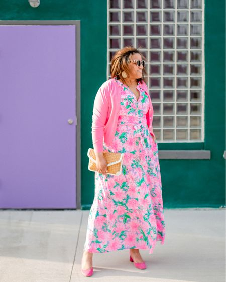 It's National Wear Lilly Day!!!!!  I LOVEEEE this dress (and these earrings are hands down my fave). Fit is TTS! 💓💚👗 http://liketk.it/3hZfq #liketkit @liketoknow.it You can instantly shop all of my looks by following me on the LIKEtoKNOW.it shopping app