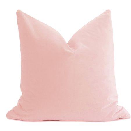 Thinking spring with these blush velvet pillow covers. ✨ http://liketk.it/39rpa #liketkit @liketoknow.it #LTKSeasonal #StayHomeWithLTK