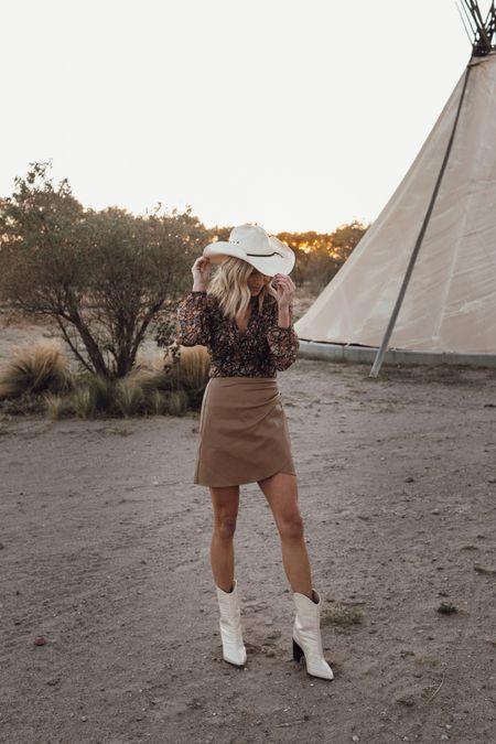 Western fall outfit ✨👢🍂   #LTKstyletip #LTKunder100 #LTKSeasonal