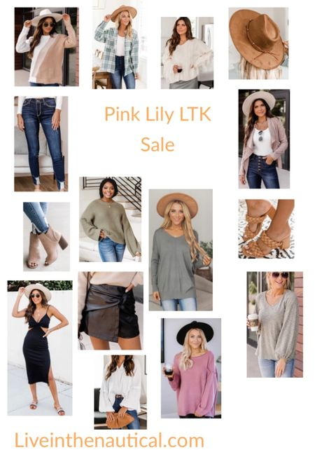 Sale Alert!  It is LTK's Gifting Sale! And when you shop in app, get 25% off from Pink Lily! Rounding up some of my favorite fall finds!  #LTKsalealert #LTKDay #LTKSale