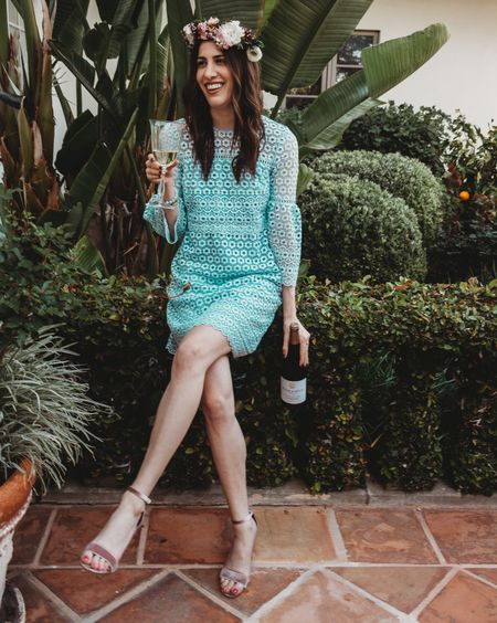 I like my wine with a side of pink velvet heels please. Thank you @folieadeuxwines for showing me how Sunday brunch should always be done! http://liketk.it/2vjSj @liketoknow.it #liketkit #FolieADeuxPartner