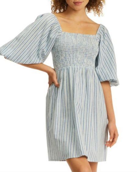 Nordstrom sale dress you can wear now! Nordstrom Anniversary Sale, #nsale      http://liketk.it/3l6ct @liketoknow.it #liketkit  #LTKunder50 #LTKsalealert