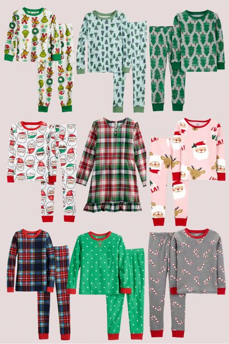 Use code FLASH for an extra 20% off of kids Christmas and holiday pajamas!   #LTKsalealert