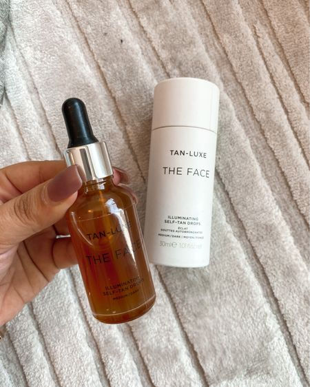 New makeup product! I've heard all the rave and had to add this to my makeup/skincare routine! The tan luxe the face illuminating self tan drops! Can't wait to try!! http://liketk.it/2YLEB #liketkit @liketoknow.it #LTKbeauty #LTKunder50 #LTKsalealert