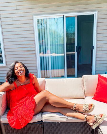 Red dress  Summer dress http://liketk.it/3gMGe #liketkit @liketoknow.it #LTKshoecrush #LTKunder100 #LTKstyletip  #ltksummer