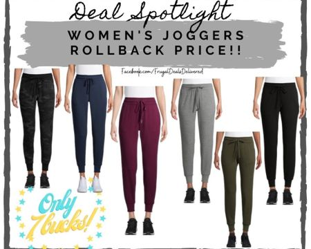 Women's fashion joggers for only 7 bucks!! Walmart & amazon fashion summer fall spring styles. Fashion outfits on the cheap! White black gray camo all the in colors! Perfect for your camping & hiking vacation!   Screenshot this pic to get shoppable product details with the LIKEtoKNOW.it shopping app make sure you follow FrugalDealsDelivered for more ideas and collage inspiration!    #LTKfamily #LTKstyletip #LTKsalealert @liketoknow.it.family http://liketk.it/3eDEk #liketkit @liketoknow.it