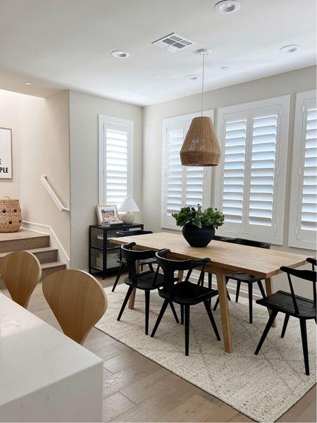 Dining Room Decor. Amber Lewis x Loloi rug. #AmberLewisXLoloi #rug #amberlewis #loloi    #LTKhome