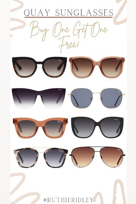 Quay sunglasses BUY ONE GET ONE FREE🙌🏾🙌🏾  #LTKstyletip #LTKunder100 #LTKsalealert