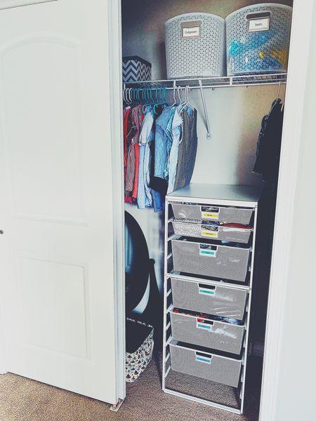 Closet organization   #LTKSeasonal #LTKunder50 #LTKhome