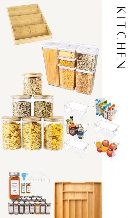 Kitchen organization. amazon finds   #LTKhome