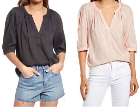 Nordstrom tops, fall outfit ideas  #LTKunder100 #LTKstyletip