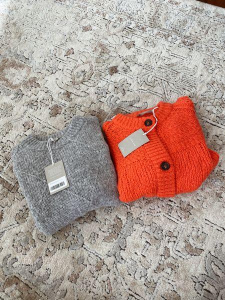Everlane sweater and cardigan   #LTKSeasonal