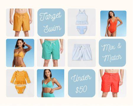 Matching Family Swim under $50 http://liketk.it/3hN6j @liketoknow.it #liketkit #LTKtravel #LTKunder50 #LTKfamily