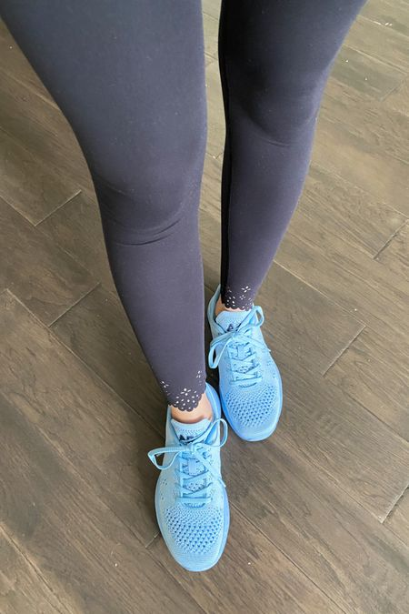 I am in love with these new leggings! So soft and the eyelet edge is too cute! http://liketk.it/3h2rm #liketkit @liketoknow.it #leggings #athletic #athleisure  #LTKunder100