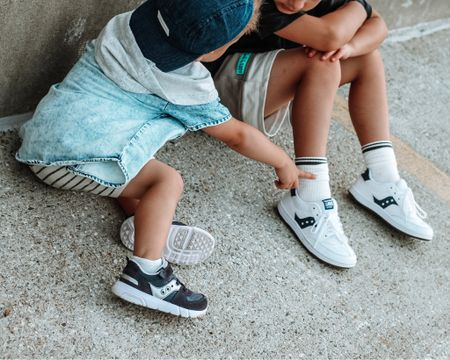 Coordinating sneakers! http://liketk.it/3hg4w #liketkit @liketoknow.it #LTKkids #LTKshoecrush #LTKstyletip @liketoknow.it.family Follow me on the LIKEtoKNOW.it shopping app to get the product details for this look and others