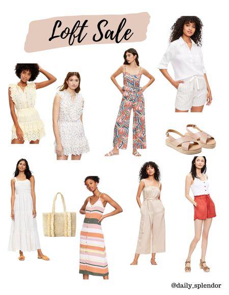 Save up to 50% at Loft! Great summer dresses and separates   #LTKSeasonal #LTKunder100 #LTKsalealert