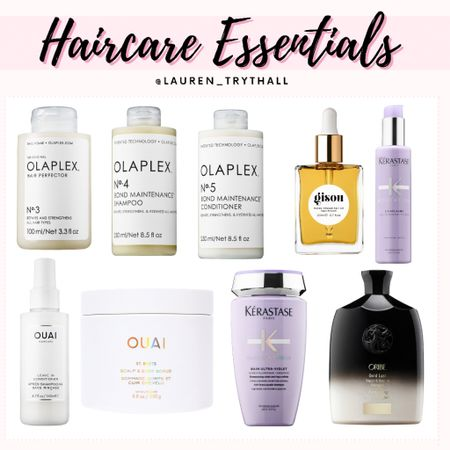 Few of my haircare essentials to keep my hair healthy & protected from damage. Olaplex works wonders for repairing damaged hair!   #LTKbeauty #LTKSeasonal #LTKunder50