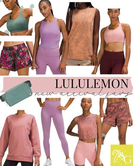 Lululemon new arrival favorites// workout clothes, athleisure   #LTKfit #LTKunder100