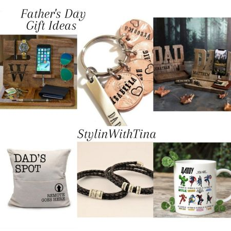Father's day gift ideas. Cute personalized gifts, pillow, mug, key chain, dresser organizer, bracelet. Etsy finds. Custom gifts dad will love #LTKsalealert #LTKDay #LTKunder100 #LTKstyletip #LTKunder50 #LTKmens #LTKitbag  #fathersday#fathersdaygiftideas #etsyfinds#mensgifts#customsgifts #mensgifts http://liketk.it/3gW86   #LTKhome #LTKfamily @liketoknow.it #liketkit