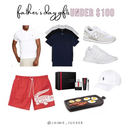 Father's Day Gifts under $100! Which is currently a week away. Check out all these fantastic gift options! | #FathersDay #GiftGuide #MensSummerOutfits #MenFashion #Bloomingdales #MensSneakers #SummerSlides #SummerFootwear #JaimieTucker  #LTKmens #LTKunder100 #LTKstyletip