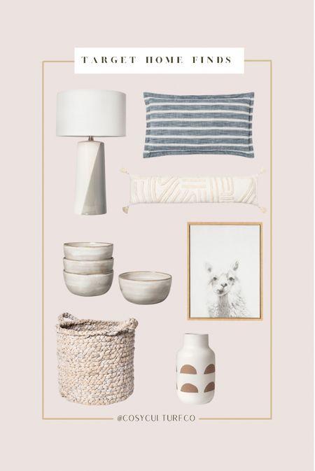 Target decor home finds!   Accent pieces / neutral decor    #LTKstyletip #LTKhome #LTKfamily