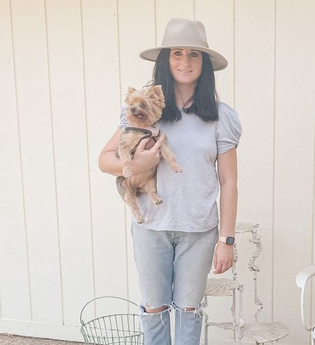 Favorite fall hat, must have puff sleeve shirt on sale and Agolde Riley jeans. Nordstrom fashion finds.   #LTKunder100 #LTKSeasonal #LTKstyletip