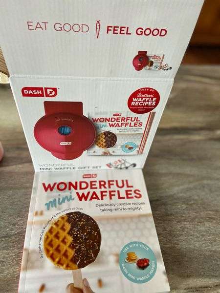 I am late to the mini waffle game but what came with this one is amazing! I promise you need it and will love it   #StayHomeWithLTK #LTKhome #LTKunder50