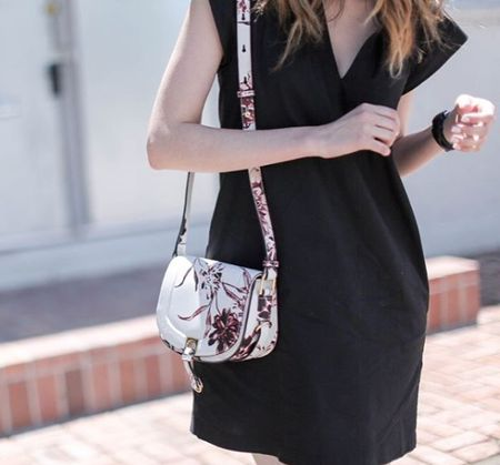 @TheMiddleCloset you look (on point emoji) in our floral Claudia Saddle Bag. Shop this style and more at @LordandTaylor! http://liketk.it/2p2Tv @liketoknow.it  #liketkit #WearITtoWork