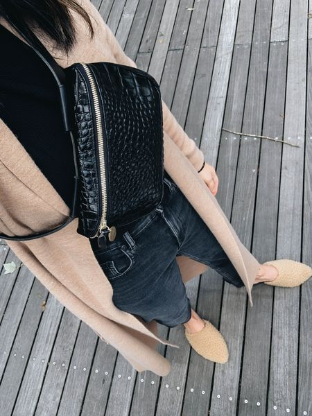 Lots of great dupes for my Aritzia duster cardigan. Linked them all in the @shop.LTK app. Get 15% off my favorite mules with code Crystalin15   #LTKshoecrush