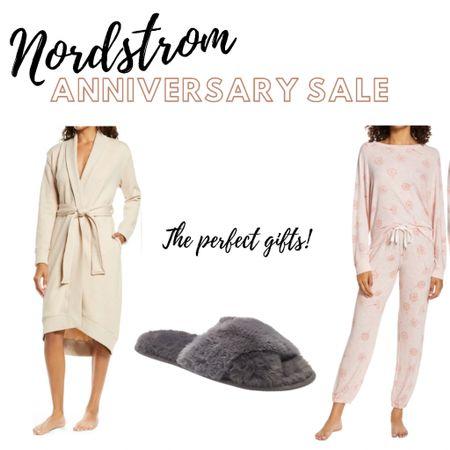 The perfect gifts! #nsale #nordysale #nordstrom #nordstromanniversarysale #giftsforher #affordablestyle #casualstyle #comfies #loungewear #fleecerobe   #LTKsalealert #LTKunder100 #LTKunder50