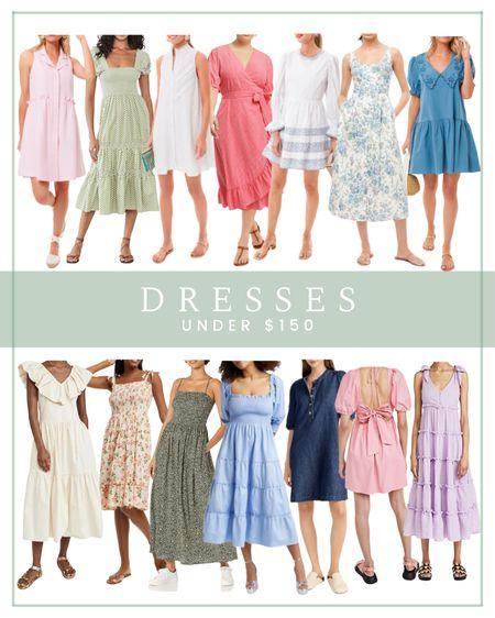 Dresses under $150, midi dress, summer dress  #LTKsalealert #LTKunder100 #LTKSeasonal