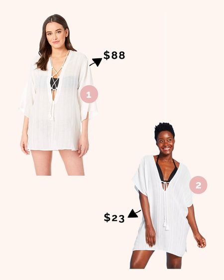 Chic Swimsuit Cover Up! Shop the original and similar look for less!  #targetstyle #targetdeal #targetrun #targetdupe @liketoknow.it #liketkit http://liketk.it/3hjqR